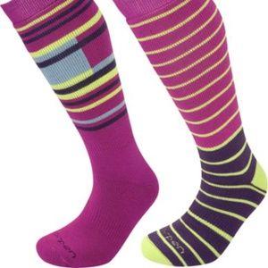 2 pairs Lorpen Ski/Snowboard Merino socks